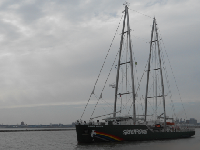 Rainbow Warrior (Greenpeace) en Montevideo